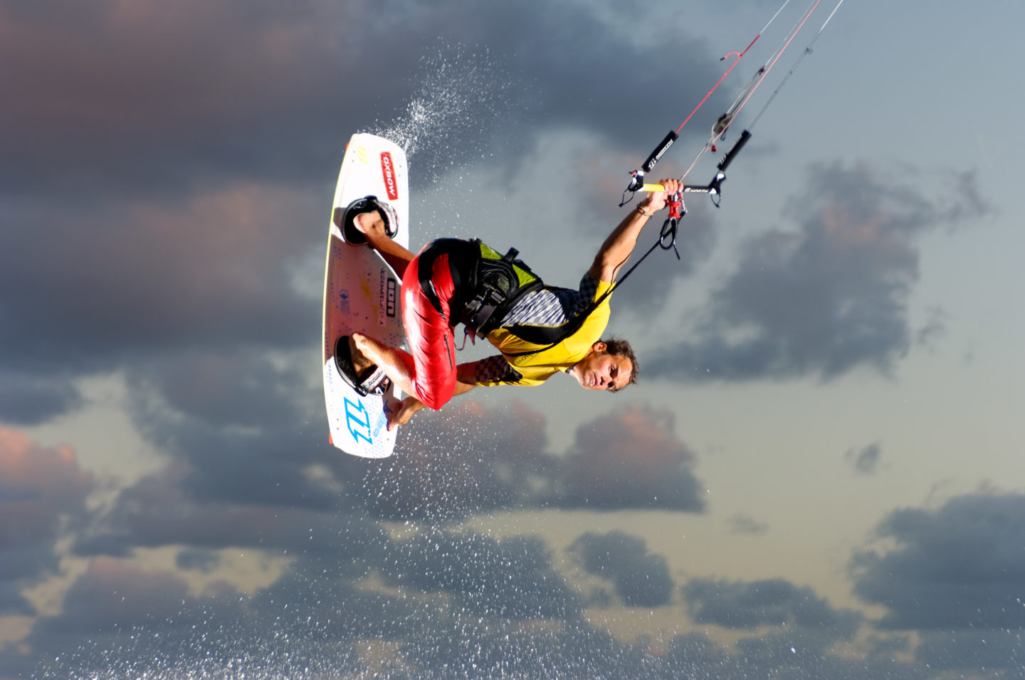 Kitesurfer Jérémie Eloy in action for Nikon Pro Magazine by Franck Socha