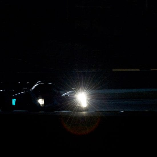 Aston Martin 007 during the 2010 24h of Le Mans by Franck Socha